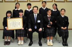 平成28年度かがやき松山大賞被表彰者