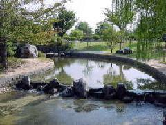 杖ノ淵公園の親水広場