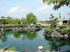 杖ノ淵公園の池