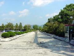 杖ノ淵公園の水路