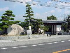 杖ノ淵公園の入口
